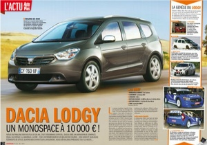 DACIA LODGY LOW COST