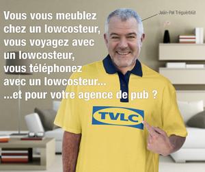 La Revolution du low cost avec le sourire de Jean-Paul Tréguer déguisé en vendeur de ... chut !
