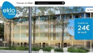 EKLO la révolution du low cost dans l'hôtellerie