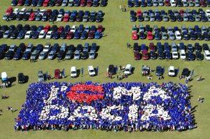 La révolution du low cost à travers le grand pique-nique annuel Dacia