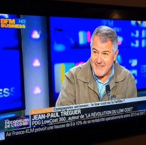 Jean-Paul Tréguer (la révolution du low cost) sur BFM Business